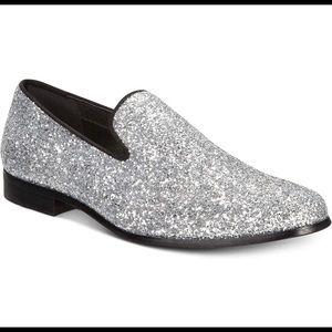 Triton Silver Dress Shoes